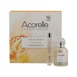 Acorelle Parfémová voda Květy vanilky, dárkový set 1 ks, (50 ml + 10 ml roll-on ZDARMA)