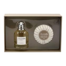 Acorelle Toaletní voda Gardenia a mýdlo, dárkový set 50 ml + 100 g ZDARMA