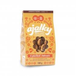 AJALA CHOCOLATE BIO Ajalky V perníkové chaloupce, máslové sušenky 100 g