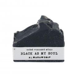 Almara Soap Mýdlo Black As My Soul 80 g