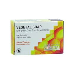Argital Rostlinné mýdlo se zeleným jílem, propolisem a medem 100 g