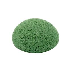 Barbara Hofmann Kosmetická houba Konjac zelená 1 ks, 6,5 cm