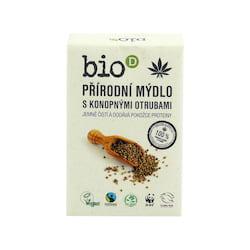 Bio-D Mýdlo s konopnými otrubami 95 g