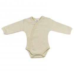 Button Style Novorozenecké body s dlouhým rukávkem 1 ks, Vel. 50