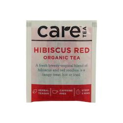 Care Tea Ovocný čaj Hibiscus Red 1 ks, 2 g