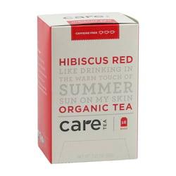 Care Tea Ovocný čaj Hibiscus Red 18 ks, 36 g