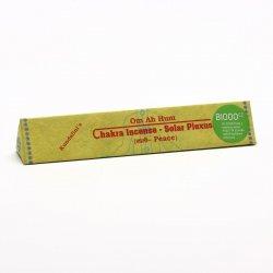 Chakra Incense Vonné tyčinky tibetské, Solar plexus - peace 19 ks