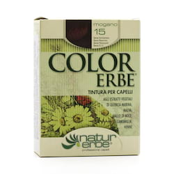 Color Erbe Barva na vlasy Mahagon 15, Natur 135 ml