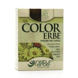 Color Erbe Barva na vlasy Světle popelavý kaštan 20, Natur 135 ml