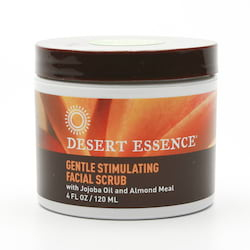 Desert Essence Obličejový peeling 120 ml