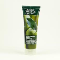 Desert Essence Šampon pro jemné vlasy zelené jablko a zázvor 237 ml