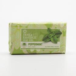 Desert Essence Tuhé mýdlo máta peprná 142 g