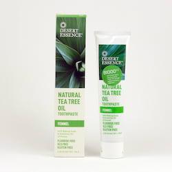 Desert Essence Zubní pasta tea tree a fenykl 176 g