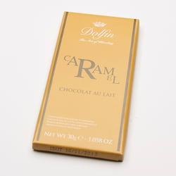 Dolfin Čokoláda mléčná s karamelem 30 g