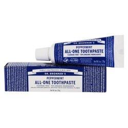 Dr. Bronner's Zubní pasta, Peppermint 28 g