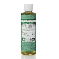 Dr. Bronner's Tekuté universální mýdlo ALL-ONE!, Almond 240 ml