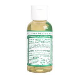 Dr. Bronner's Tekuté universální mýdlo ALL-ONE!, Almond 60 ml