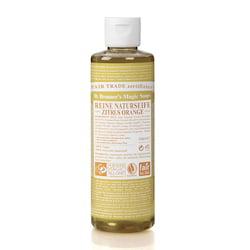 Dr. Bronner's Tekuté universální mýdlo ALL-ONE!, Citrus-Orange 240 ml