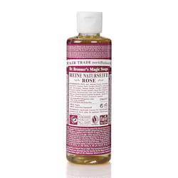 Dr. Bronner's Tekuté universální mýdlo ALL-ONE!, Rose 240 ml