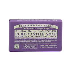 Dr. Bronner's Tuhé mýdlo Lavender 34 g