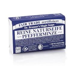 Dr. Bronner's Tuhé mýdlo Peppermint 140 g