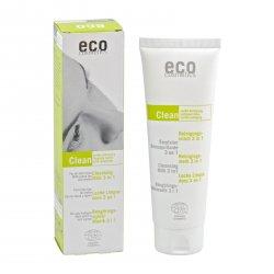Eco Cosmetics Čistící mléko 3 v 1 125 ml