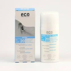 Eco Cosmetics Ochranné sluneční mléko SPF 20, Neutral 100 ml