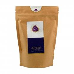 Eliah Sahil Ájurvédský práškový šampon Citrus-Guarana, Bio 250 g, náplň