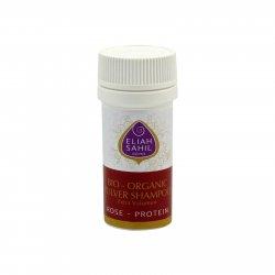 Eliah Sahil Ájurvédský práškový šampon na objem Rose-Protein, Bio 6 g