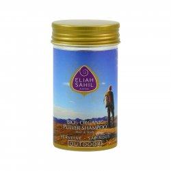 Eliah Sahil Ájurvédský práškový šampon na vlasy a tělo Verveine, Bio 100 g