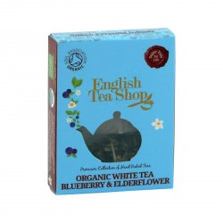 English Tea Shop Bílý čaj borůvka a bezový květ 9 g, 1 ks