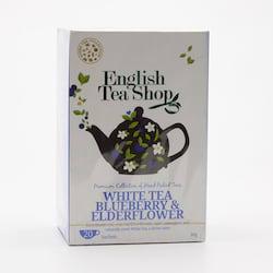 English Tea Shop Bílý čaj borůvka a bezový květ 30 g, 20 ks