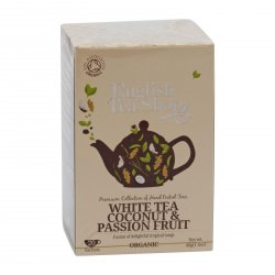English Tea Shop Bílý čaj, kokos a passion fruit  40 g, 20 ks