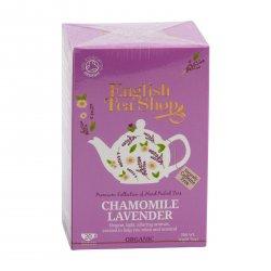 English Tea Shop Čaj heřmánek a levandule 40 g, 20 ks