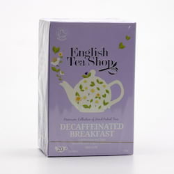 English Tea Shop Černý čaj English Breakfast bez kofeinu 20 ks, 40 g