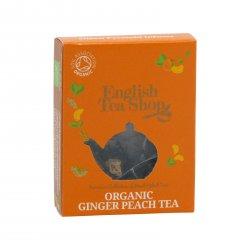 English Tea Shop Černý čaj zázvor a broskev 2 g, 1 ks