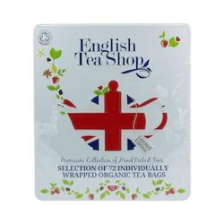 English Tea Shop Dárková sada čajů Diamond Jubilee, plechová kazeta 132 g, 72 ks
