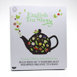 English Tea Shop Dárková sada čajů English Tea Shop, plechová kazeta 72 ks, 132 g