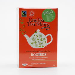 English Tea Shop Rooibos, bio 40 g, 20 ks