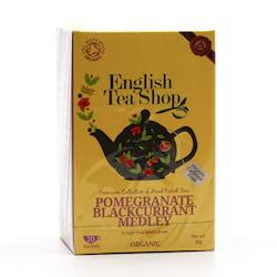 English Tea Shop Rooibos, granátové jablko a černý rybíz, bio 30 g, 20 ks