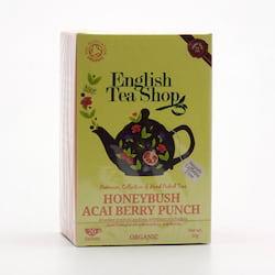 English Tea Shop Rooibos, punč s medovým květem a acai 30 g, 20 ks