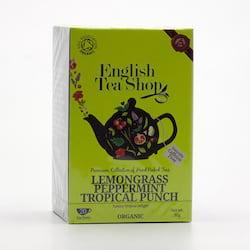 English Tea Shop Štěstí z citronové trávy, máty a tropického ovoce 30 g, 20 ks