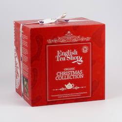 English Tea Shop Vánoční kostka červená, bio 144 g, 96 ks