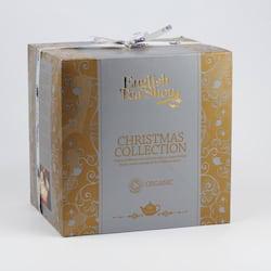 English Tea Shop Vánoční kostka zlatá 144 g, 96 ks