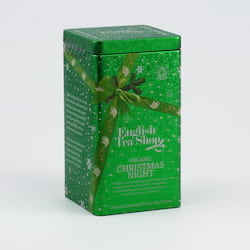 English Tea Shop Vánoční noc, plechová kazeta, bio 30 g, 15 ks