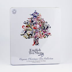 English Tea Shop Vánoční strom, plechová kazeta 108 g, 72 ks