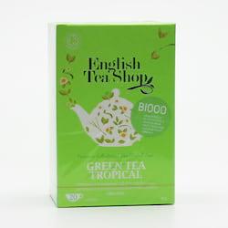 English Tea Shop Zelený čaj tropické ovoce 40 g, 20 ks