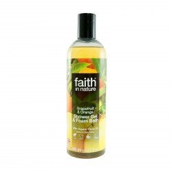 Faith in Nature Sprchový gel grapefruit & pomeranč 400 ml