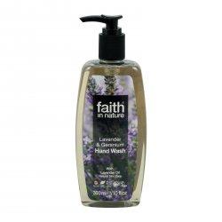 Faith in Nature Tekuté mýdlo levandule & pelargonie 300 ml