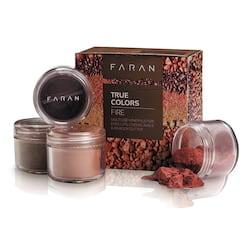 Faran Set minerálních dekorativních barev, True Colors Fire 13,5 ml